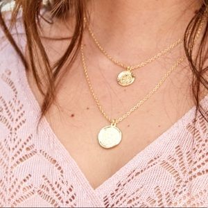 NWT Amber Sceats double tier medallion necklace